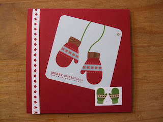 Snow Festival DSP, Stampin' Up!