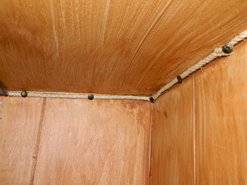 how to put up door trim