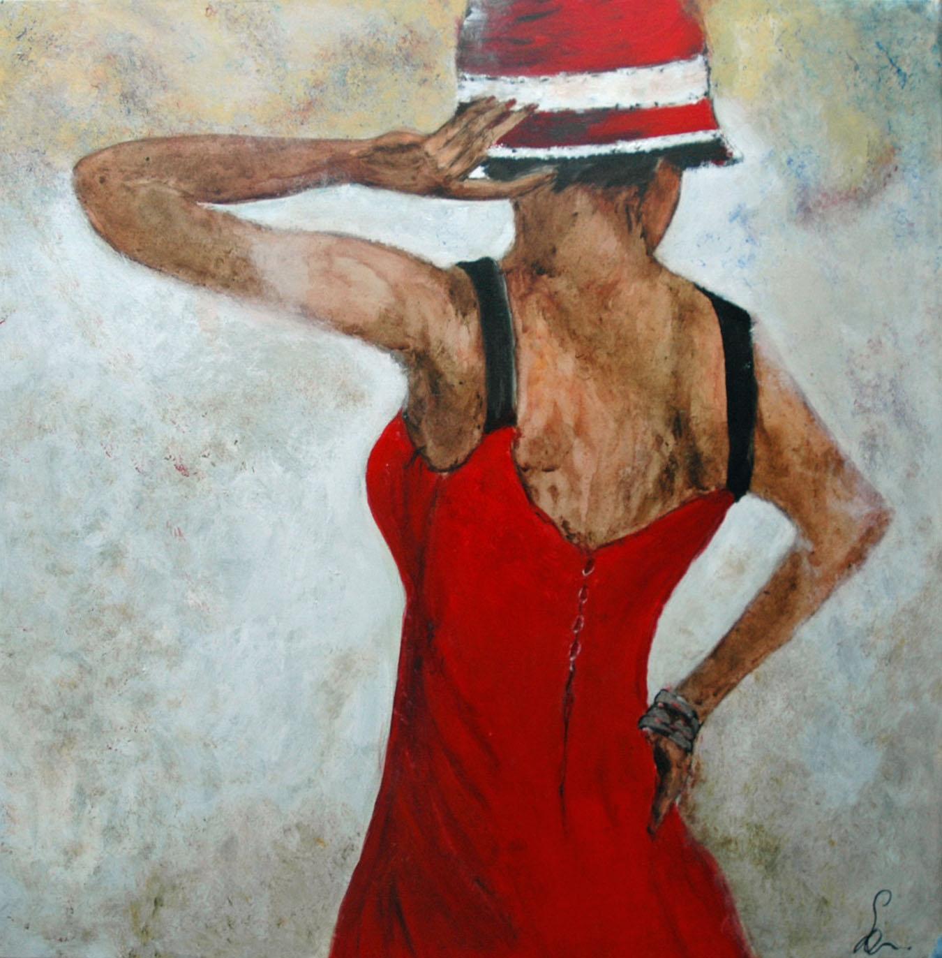 meisje met hoed (2018)