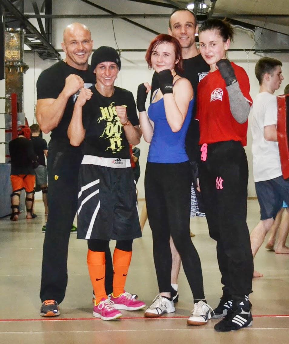 boks, trening, Zielona Góra, Poznański Klub Bokserski, Kinga Szlachcic, Adriana Marczewska, Bogumił Połoński, Wojciech Wicherski