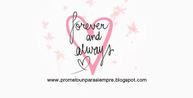 Prometo un para siempre