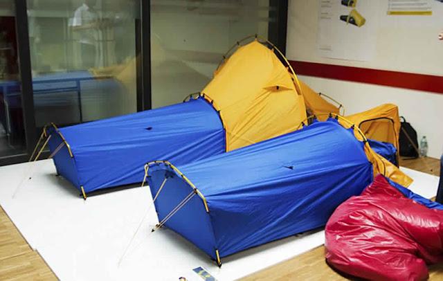 خيمة مبتكرة