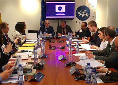 Baltar En Bruxelas presidindo o Consello Político dos gobernos provinciais de Europa