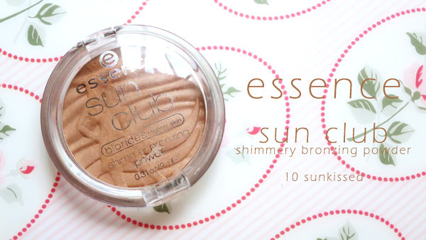 Essence Sun Club Shimmery Bronzing Powder 10 Sunkissed