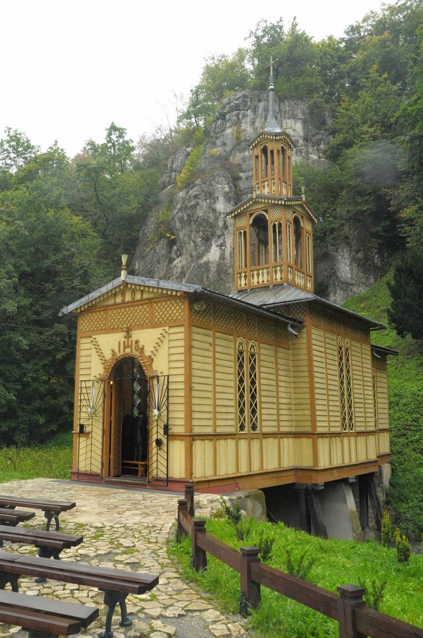 Kaplica na wodzie, Ojcowski Park Narodowy