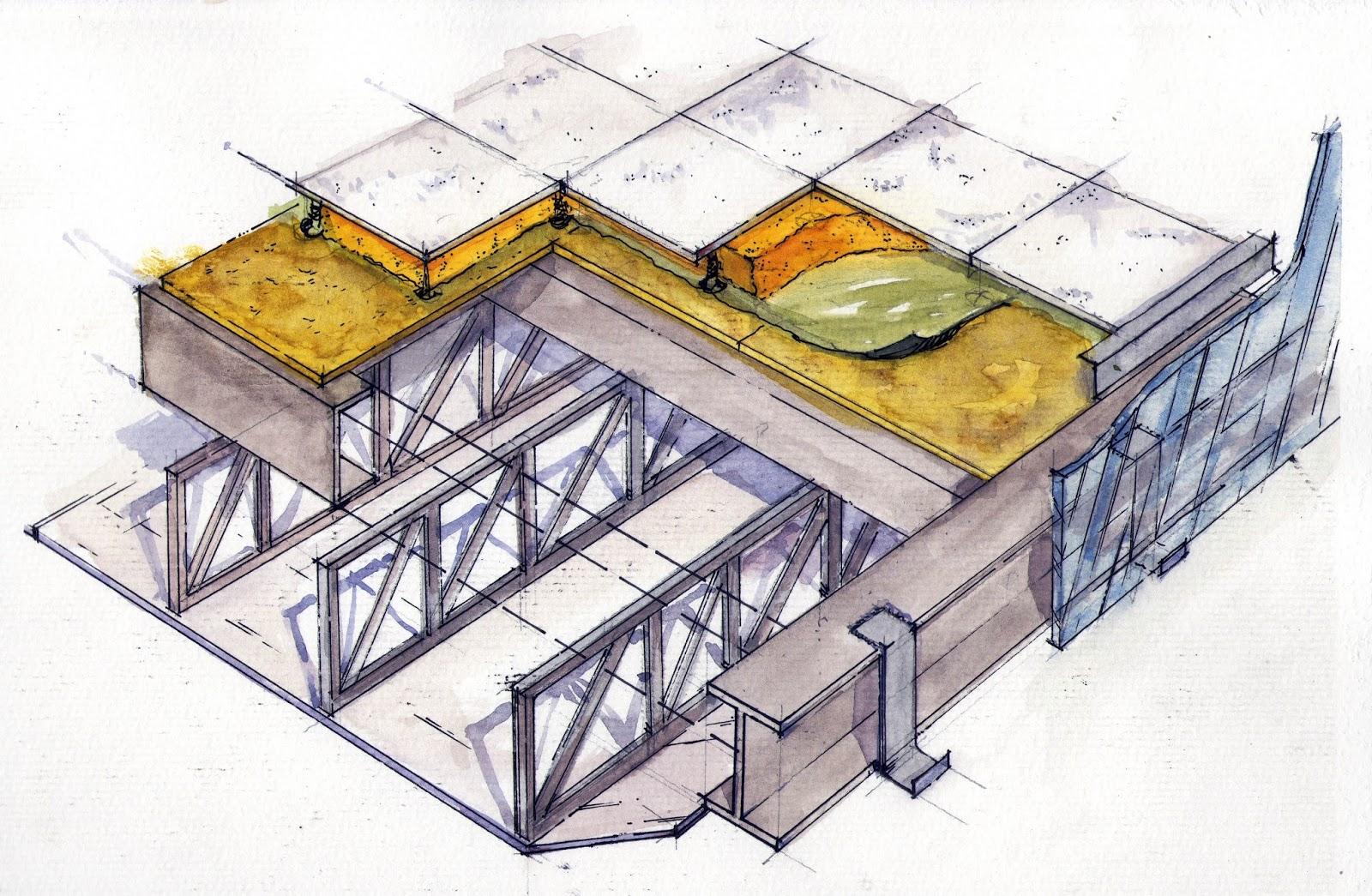 Tp3 construcciones iii grafica arquitectonica for Arquitectura 6b faudi