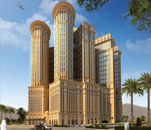 hotel terbesar dan tertinggi di mekah