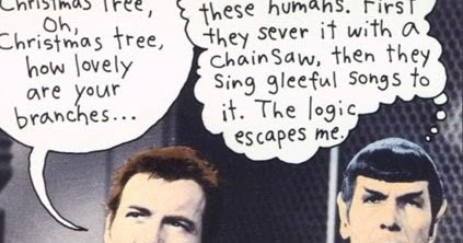 MUSINGS OF A SCI-FI FANATIC: Star Trek: Merry Christmas