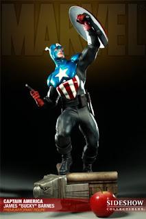 James Buchanan Bucky Barnes Character Review - Statue Product 3