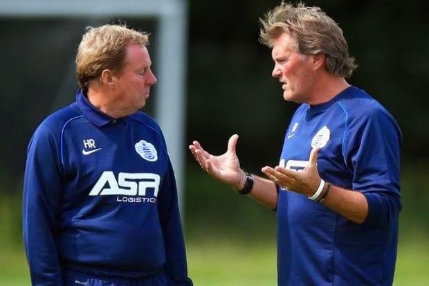 Pengurus, Jurulatih QPR Letak Jawatan, info sukan, bola sepak, QPR, Harry Redknapp