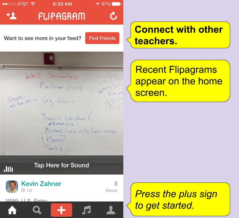 learning blog flip your class with flipagram