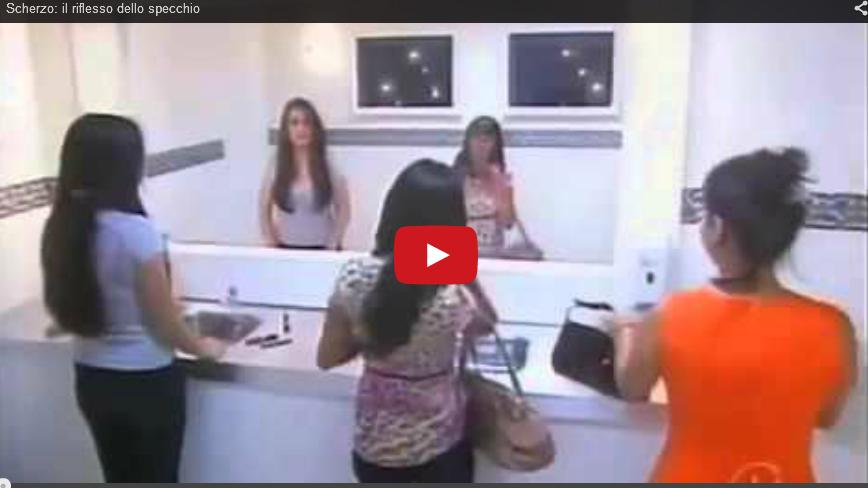 Lo scherzo dello specchio video - Frasi sul riflesso dello specchio ...