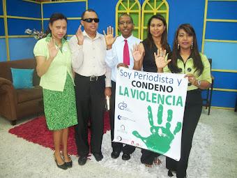 SOY PERIODISTA Y CONDENO LA VIOLENCIA, EN TELEUNION