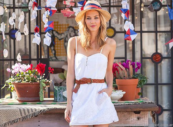 Moda primavera verano 2015. Vestidos Cook primavera verano 2015.