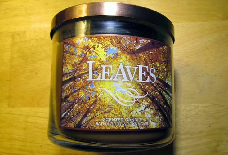 Leaves 3-Wick Candle | Hey There Ray