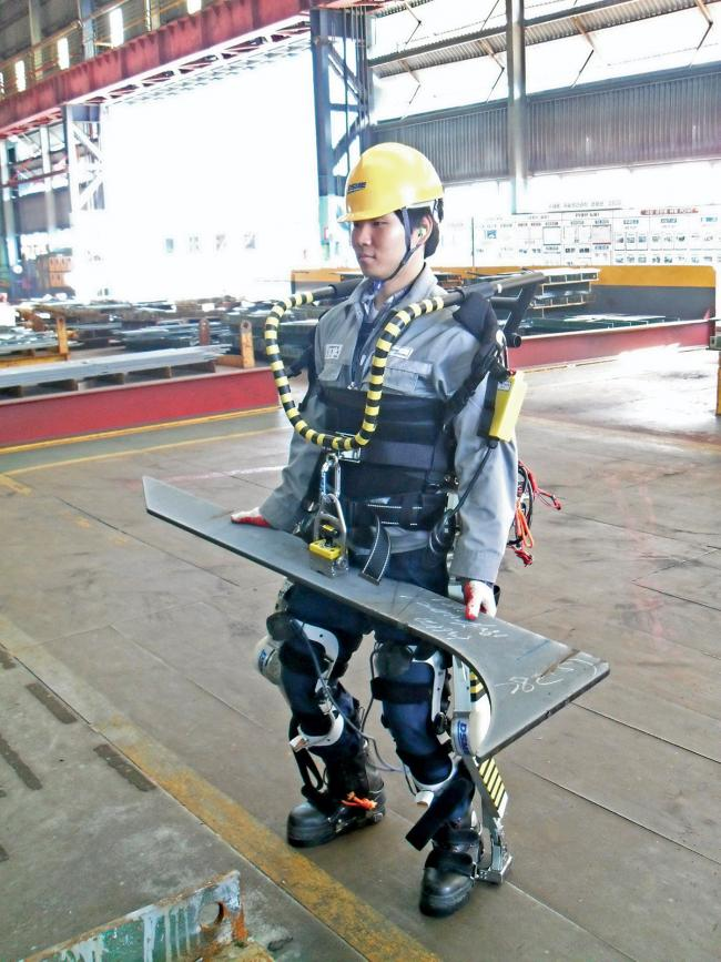 Exoesqueleto desarrollado en astilleros surcoreanos