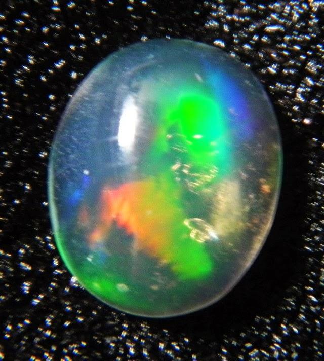 Batu Akik Kalimaya (Black Opal) Banten