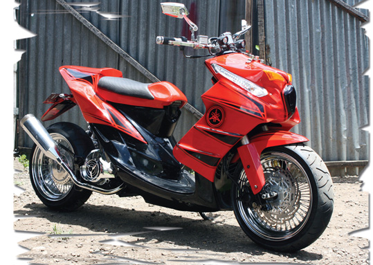 Cara Modif Motor Mio Soul Gt