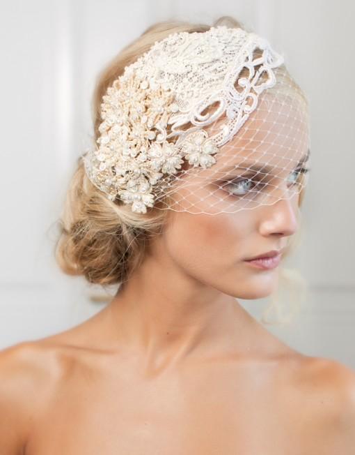 Fabulosos tocados de novias | Colección Jannie Baltzer