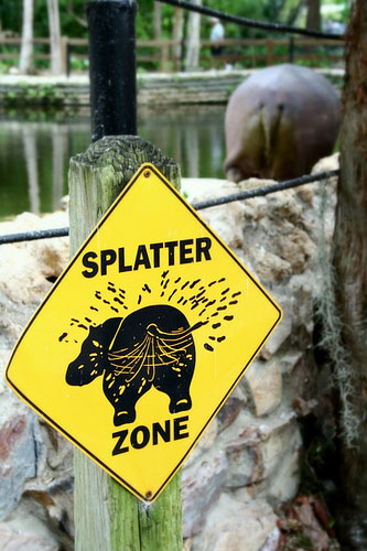 funny zoo signs