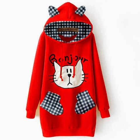 sweater kucing bonjour