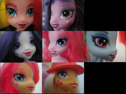 My Little Pony Equestria Girls details.