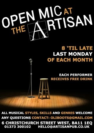 The Artisan - Open Mic Sessions
