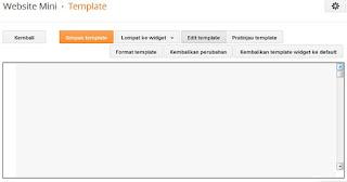 cara mengatasi editor html blank di blogger
