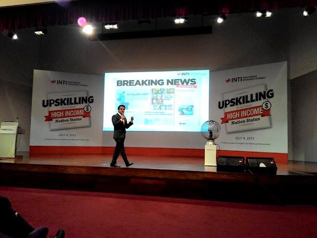 Kaji selidik warga profesional di Malaysia, MBA INTI Learning Simplified,