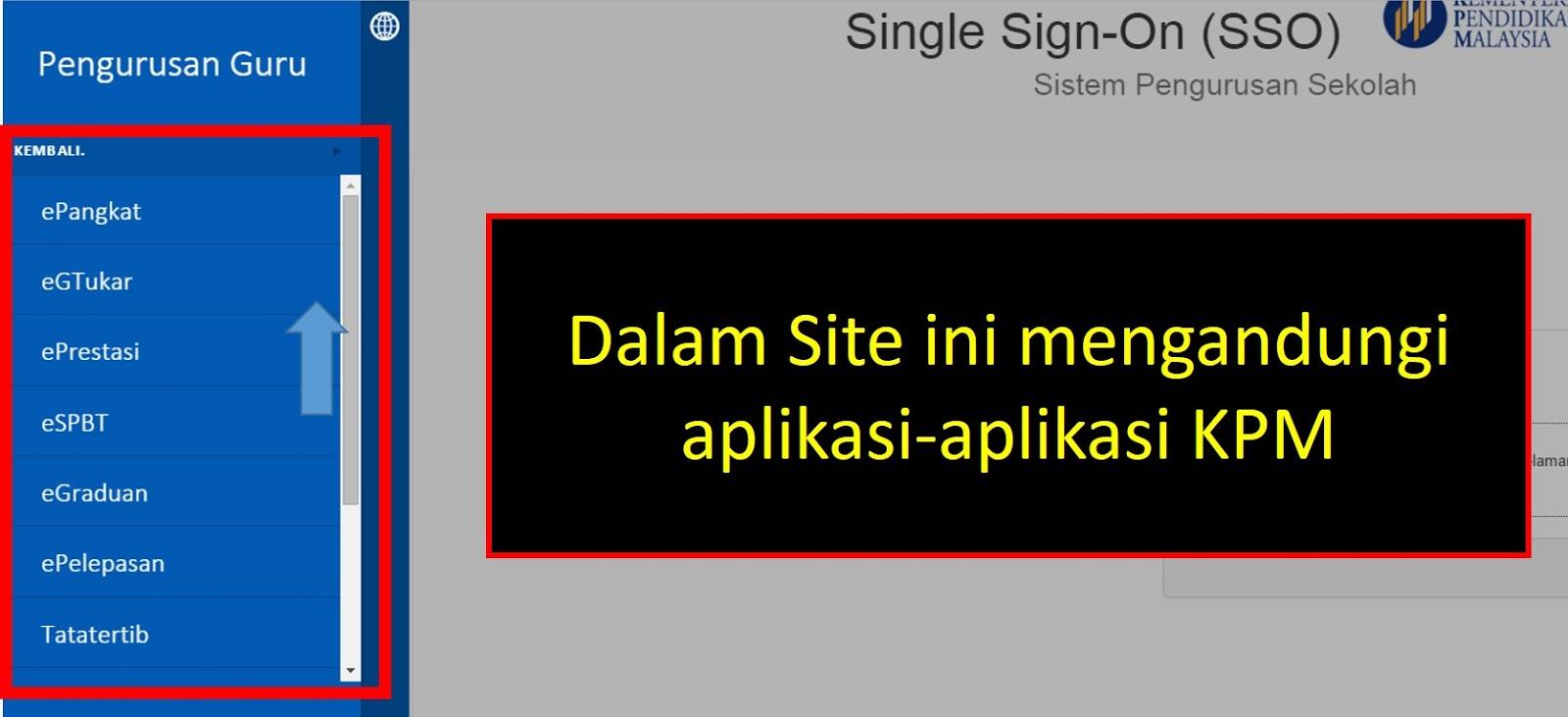 Daftar Single Sign-On 1 Password Untuk Semua Aplikasi KPM - Mykssr.com