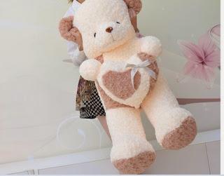 Boneka beruang love 13