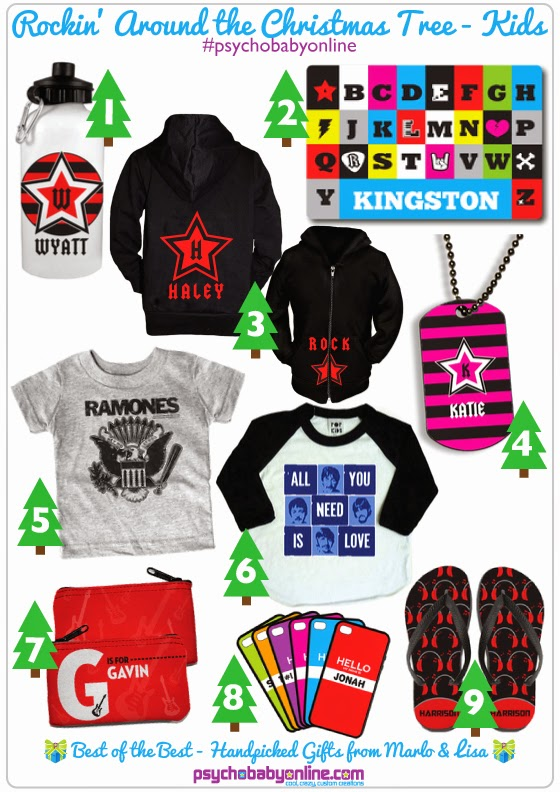 Rock and Roll Kids Gifts