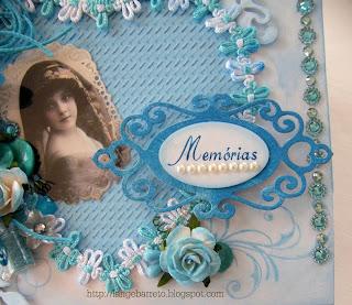 Caixa decorada Tag personalizado na Máquina da RIMAQ