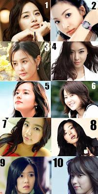 FOTO 10 ARTIS aktris KOREA PALING CANTIK girlband bintang film ANAK SMP
