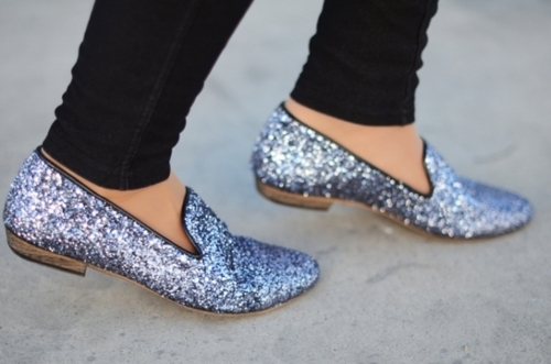 Sparkly Shoes Womens