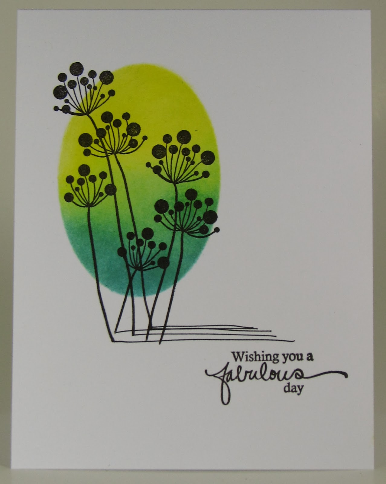 Featured on the One Layer Simplicity challenge with this card: