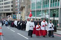 Procissão católica, Londres