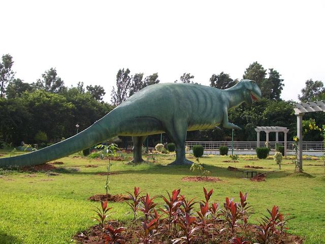 Dinosaur in BTM Layout Park