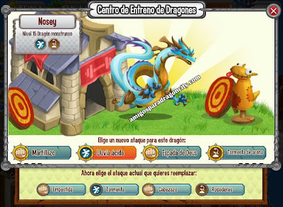 imagen de los ataques del dragon monstruoso
