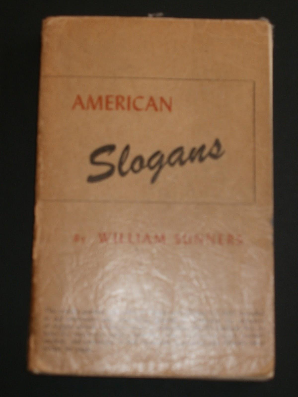 """Clean Air Act Slogan """"american slogans 1952-53"""""""