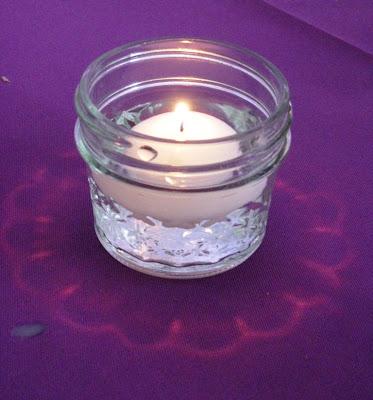 Wedding decorations candlelight