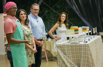 Michael, Carolina, Fabrizio e Ticiana na prova final - Crédito: Artur Igrecias/SBT