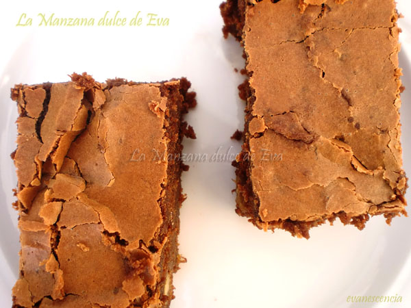 brownie de platano