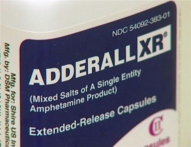 Adderall retail price