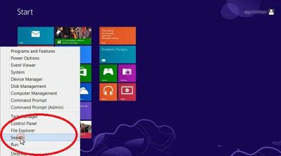 find applications in windows 8