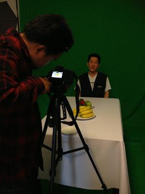 Chroma Key filming