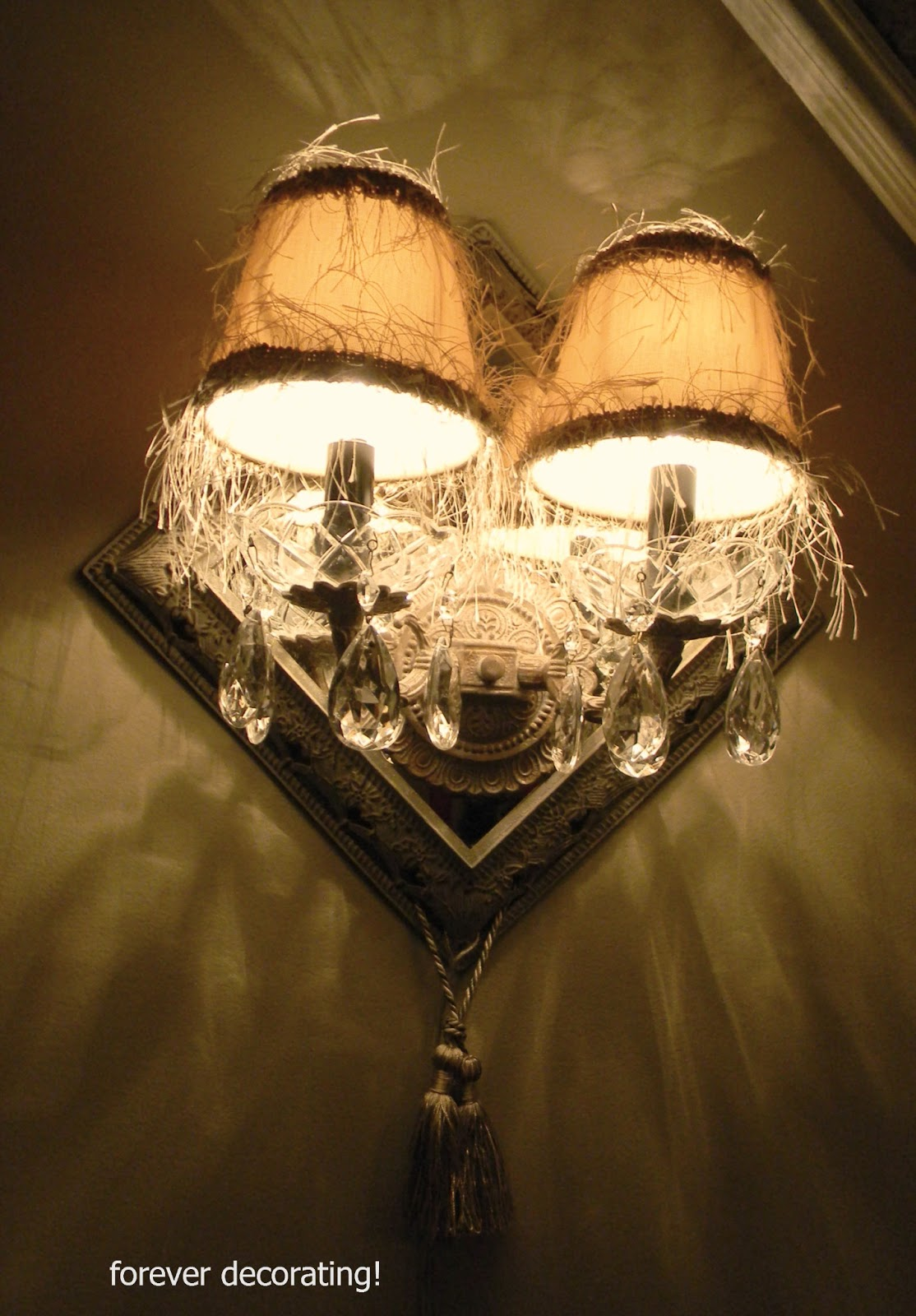 Forever Decorating Electrifying Sconces Hard Wiring Wall I Dont Want To Hire An Electrician Wire Them Into The Walls Because Tend Move Things Around On And This Would Make Permanent