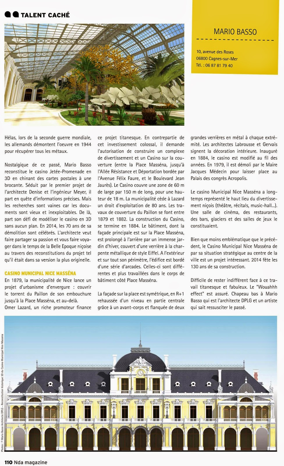 casino jetee promenade de nice en 3d nda magazine n 18 septembre 2014. Black Bedroom Furniture Sets. Home Design Ideas