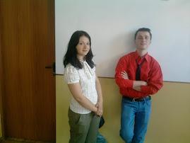 Elevii Leon Bordea şi Raluca Ilie, Concursul Memoria Holocaustului, 4.V.2012....