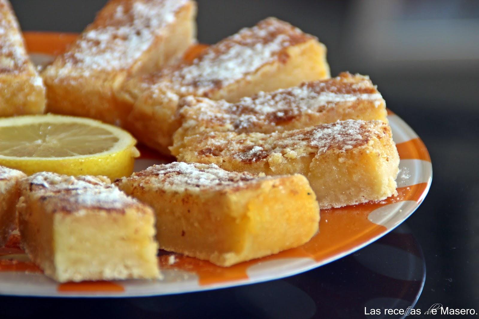 Barritas De Limón (lemon Bars)